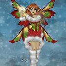 Christmas Fairy by rbrogdenart
