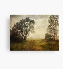The Aging Summer Canvas Print