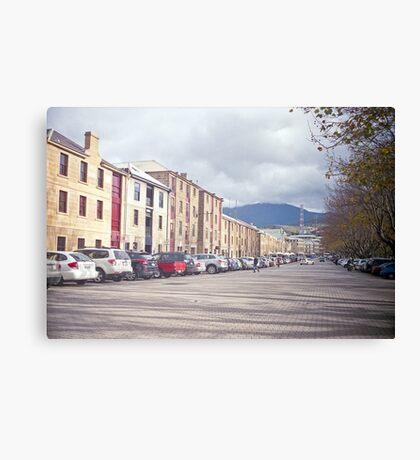 Salamanca Place Canvas Print