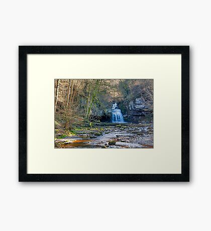 Autumn at Cauldron Falls Framed Print