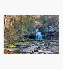 Autumn at Cauldron Falls Photographic Print