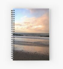 Caught by bad tempered weather Spiral Notebook