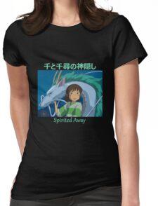 Spirited Away -  Haku and Chihiro - (Designs4You) - Studio Ghibli Womens Fitted T-Shirt