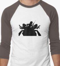 Charlie's angels logo black Men's Baseball ¾ T-Shirt