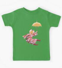 Magic Cat with Parasol Kids Tee