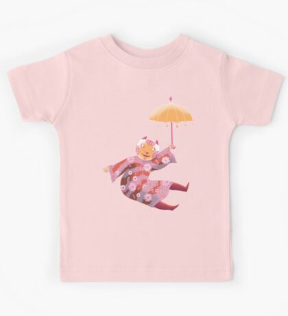 Magic Cat with Parasol Kids Clothes