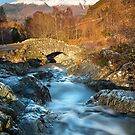 Autumn meets winter at Ashness Bridge by Martin Lawrence