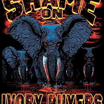 Ban Ivory Shame on Ivory Buyers by MudgeStudios