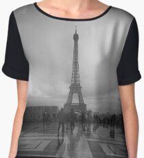 La Tour Eiffel Chiffon Top