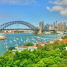 Sydney Harbour .. Sunday Arvo by Michael Matthews