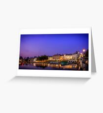 Richmond By The River, London Greeting Card