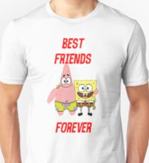 Patrick & Spongebob best friends forever T-Shirt