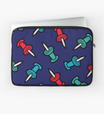 Map Tack Pattern Laptop Sleeve