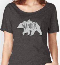 Wander Bear Mountain Women's Relaxed Fit T-Shirt