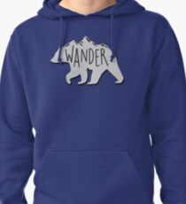 Wander Bear Mountain Pullover Hoodie