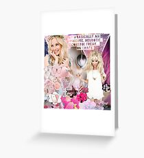 The Vampire Diaries - Caroline Forbes Greeting Card