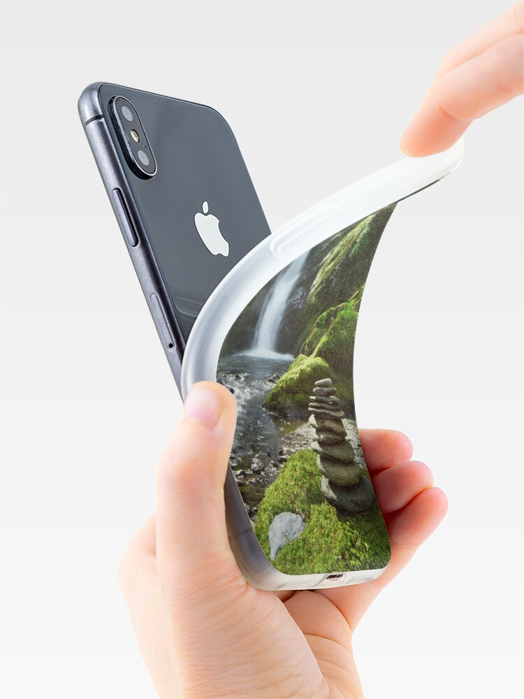 Alternate view of Wales - Dolgoch Falls 2 iPhone Case & Cover