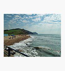 Charmouth , Dorset Photographic Print