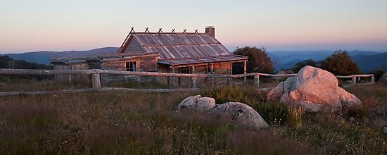 Craig's Hut Dawn by Travis Easton