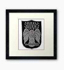 The Saviors From Walking Dead Swag Framed Print