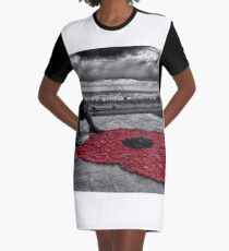 Tommy Remembering Graphic T-Shirt Dress