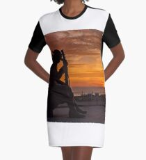 Tommy At Sunrise Graphic T-Shirt Dress