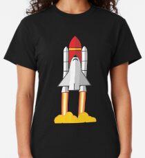 Rocket Space Shuttle Houston Classic T-Shirt