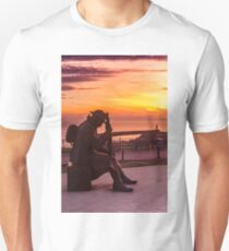 Tommy and Seaham Lighthouse Unisex T-Shirt
