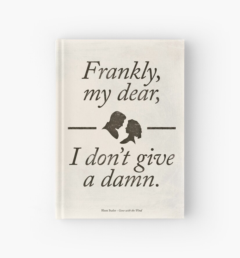 Margaret mitchell 39 s gone with the wind literary quote for Modern home decor gifts
