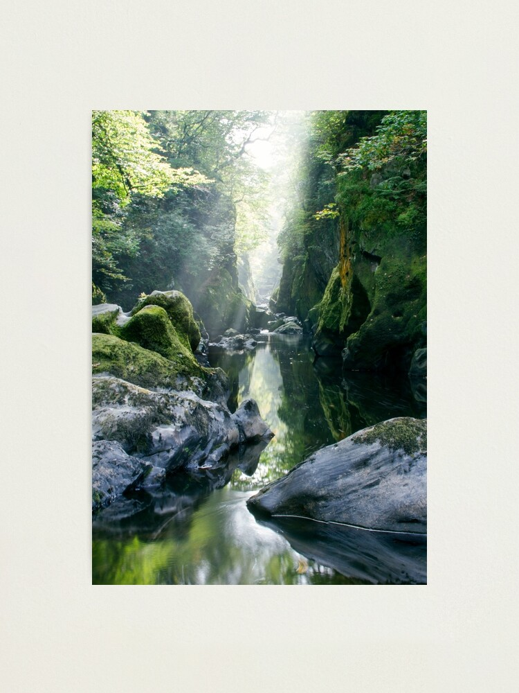 Alternate view of Wales - The Fairy Glen , Betws-y-Coed 2 Photographic Print