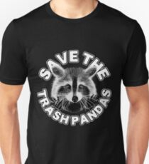 Save the Trash Pandas Raccoon Animal T-shirt T-Shirt