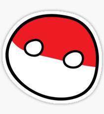 Polandball - Derpy Poland Big Sticker