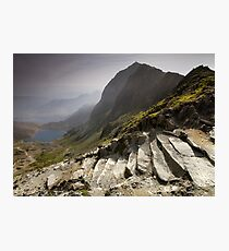 Snowdonia - Snowdon Summit Photographic Print
