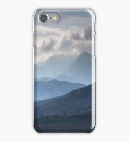 Snowdonia - Snowdon and her Sisters iPhone Case/Skin