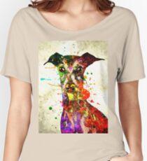 Greyhound Grunge Women's Relaxed Fit T-Shirt