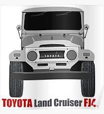 Toyota  Land Cruiser FJ40 - Front Poster