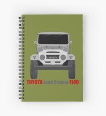 Land Cruiser FJ40 - Front Spiral Notebook
