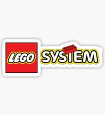 Lego System logo Sticker