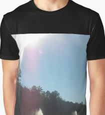 Backyard Water Scenes  Graphic T-Shirt