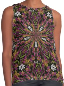 Abstract Colors And Shapes Design Contrast Tank