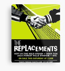 The Replacements Forest Hills show Metal Print