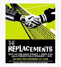 The Replacements Forest Hills show Photographic Print