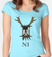 Knight of Ni  Women's Fitted Scoop T-Shirt