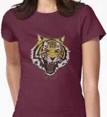 Yurio's Bow Tie Tiger Womens Fitted T-Shirt