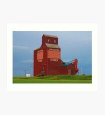 Prairie Icon Art Print