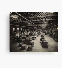 Women Working Munitions Box Factory Canvas Print
