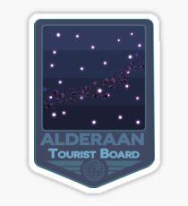 Alderaan - Tourist Board Badge Sticker