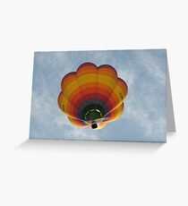 Hot Air Balloon, Bristol Greeting Card