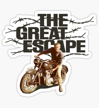 The Great Escape Sticker