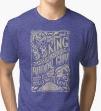 BB King Hollywood Bowl Vintage Concert Poster Tri-blend T-Shirt